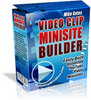 Thumbnail video clip mini site builder